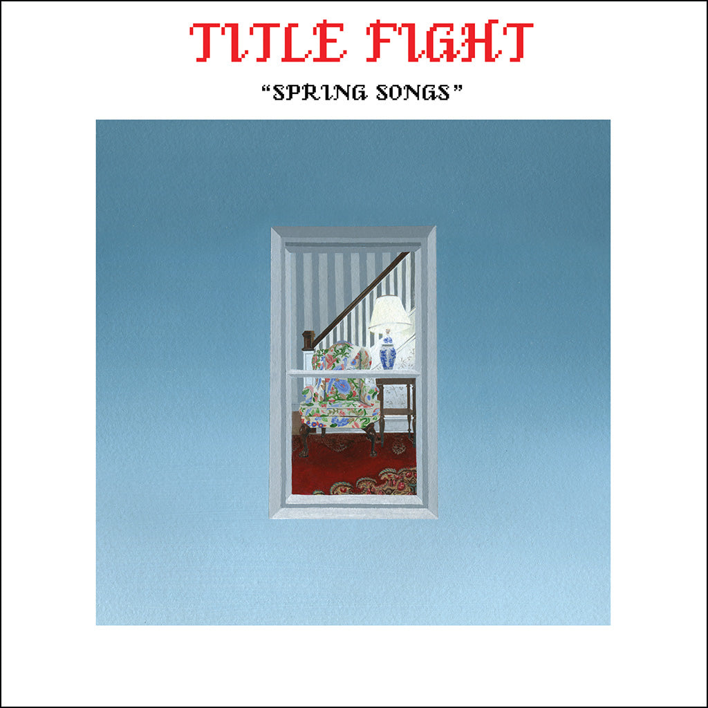 "REV154-1 Title Fight ""Spring Songs"" 7"" Album Artwork"