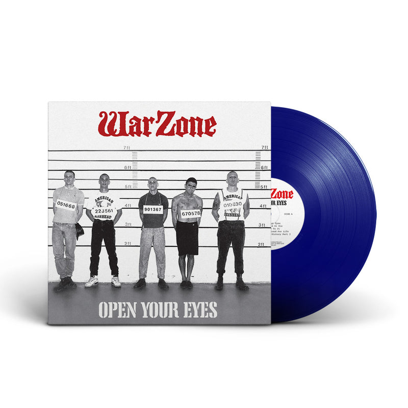 "REV173-2 Warzone ""Open Your Eyes"" CD Album Artwork"