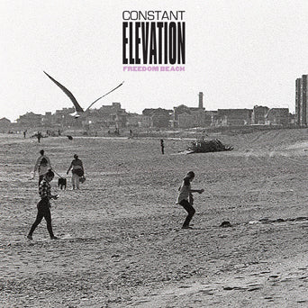 "REV183-1 Constant Elevation ""Freedom Beach"" 7"" Album Artwork"