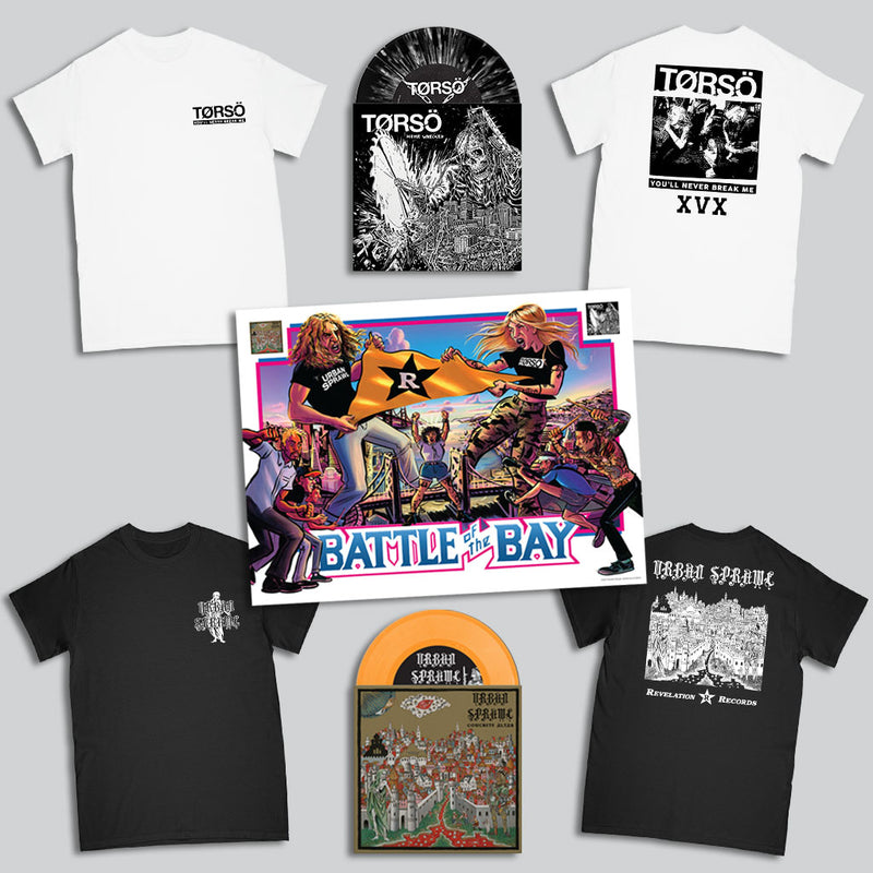 "Torso / Urban Sprawl ""Battle Of The Bay Vinyl Combo Package"""