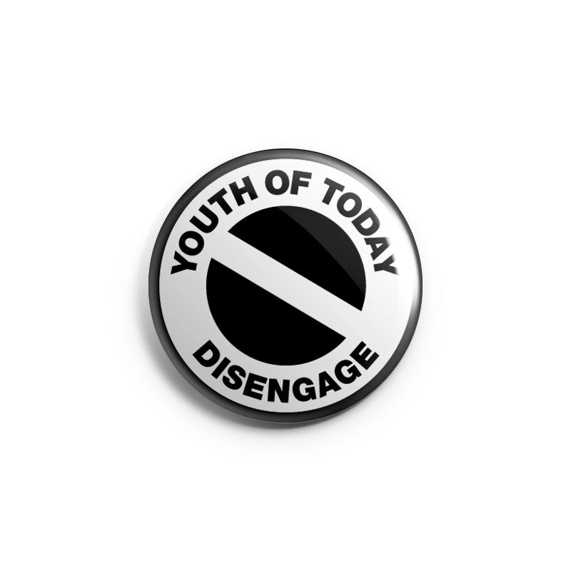 "REVBTN017A Youth Of Today ""Disengage"" - Button"