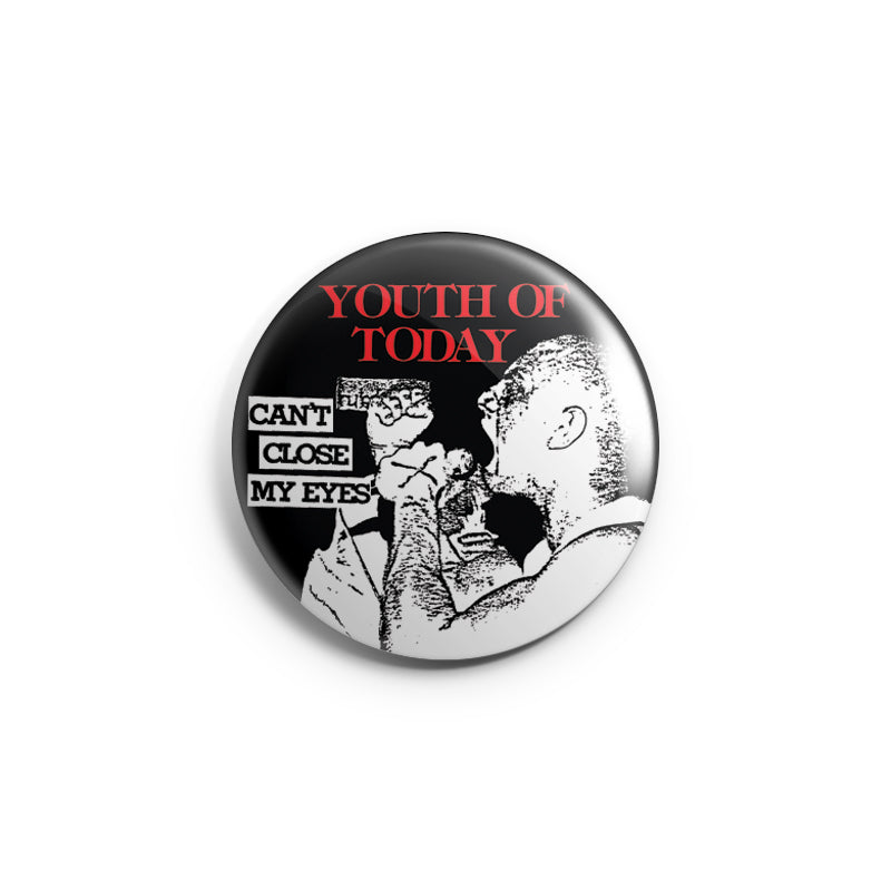 "REVBTN062 Youth Of Today ""Can't Close My Eyes"" - Button"