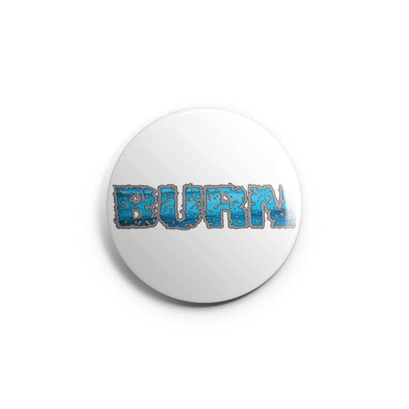 "REVBTN108 Burn ""Logo (White)"" -  Button"