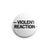 "REVBTN158 Violent Reaction ""Logo"" - Button"