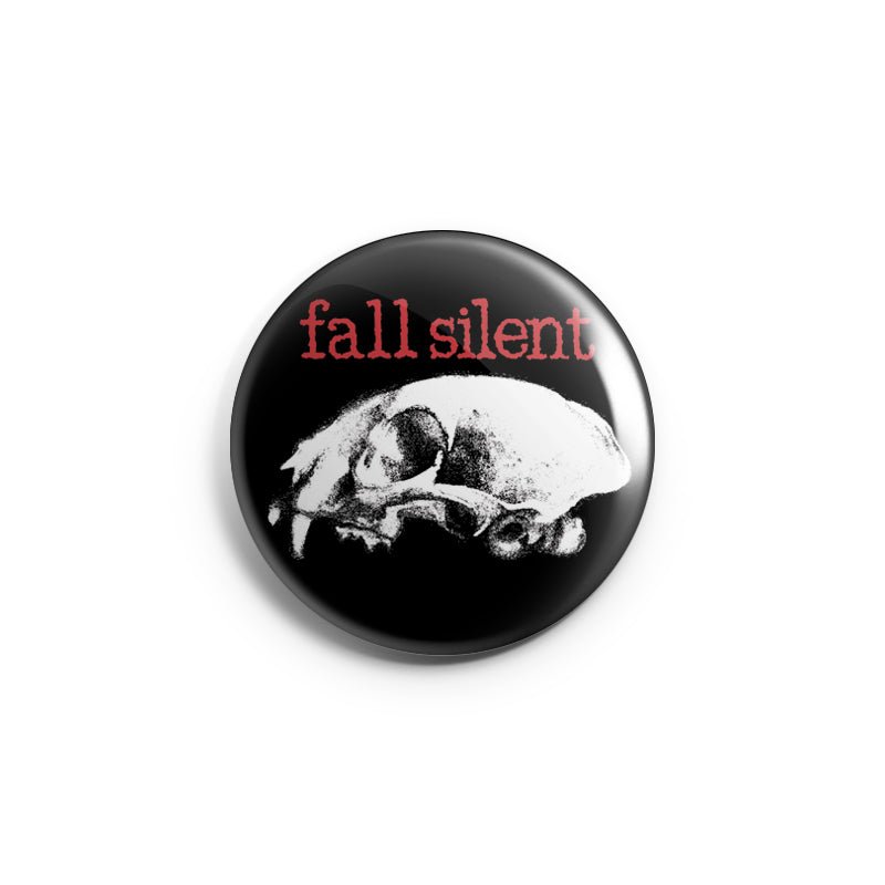 "REVBTN168 Fall Silent ""Skull"" -  Button"