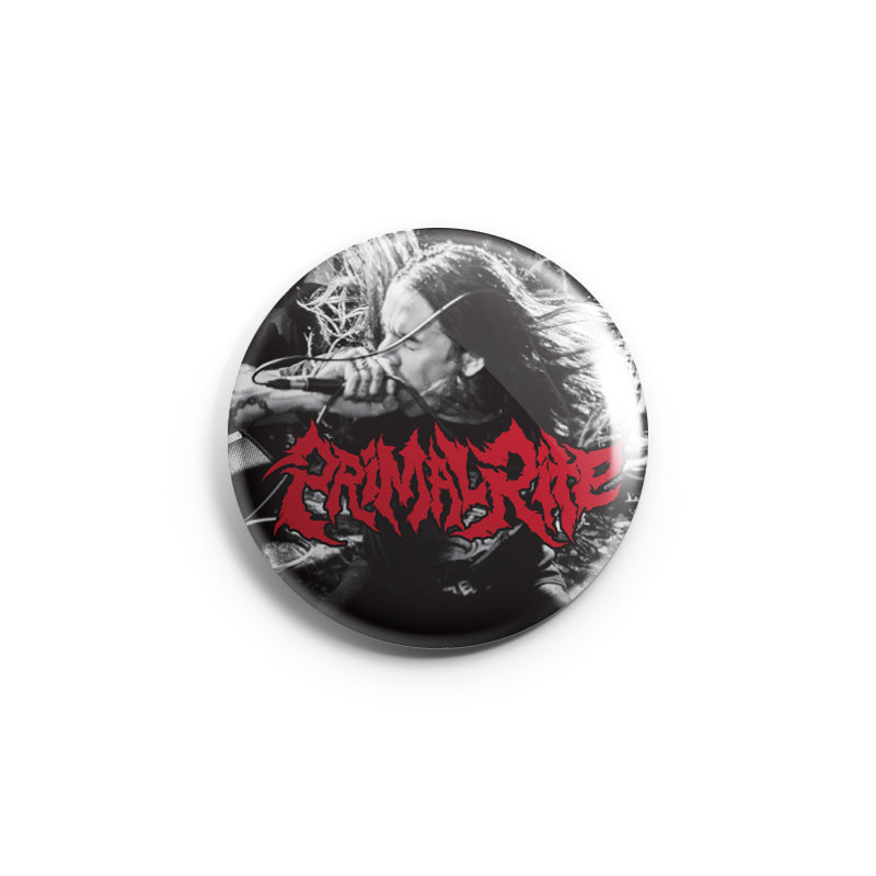 "REVBTN169 Primal Rite ""Live Photo"" -  Button"