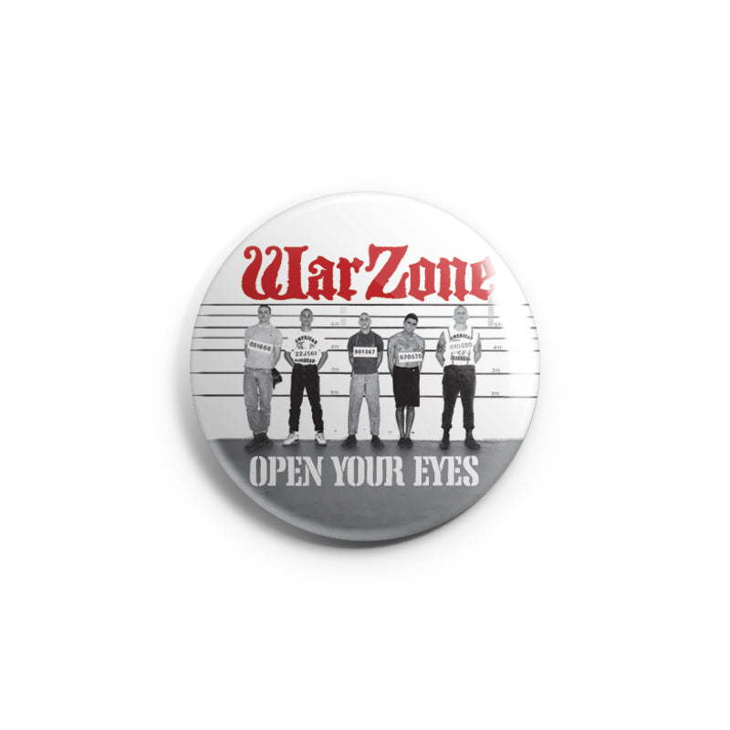 "REVBTN173 Warzone ""Open Your Eyes (Cover Art)"" - Button"