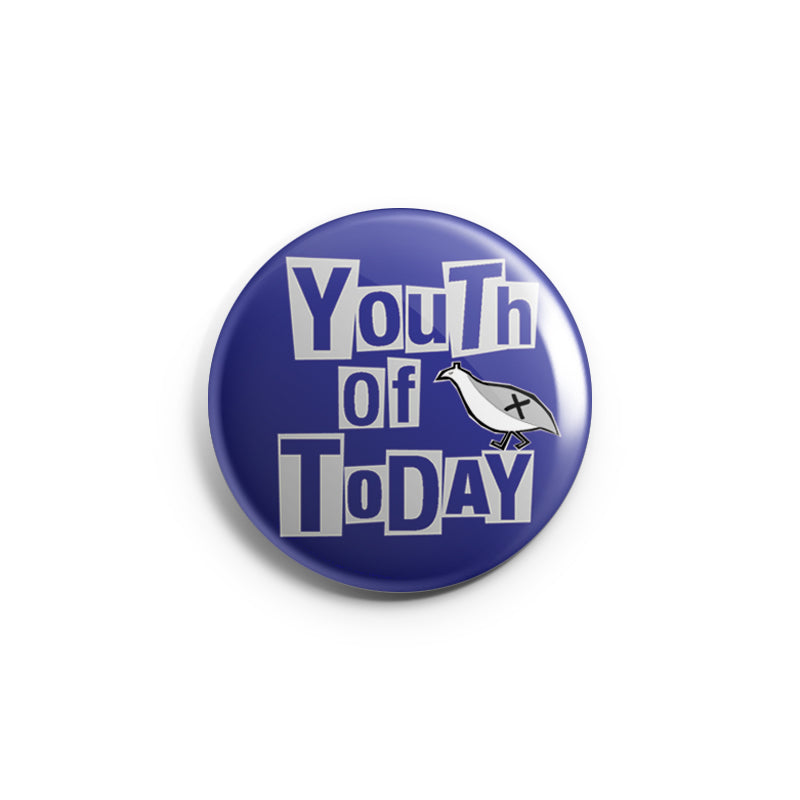 "REVBTN180 Youth Of Today ""One Night Stand"" - Button"