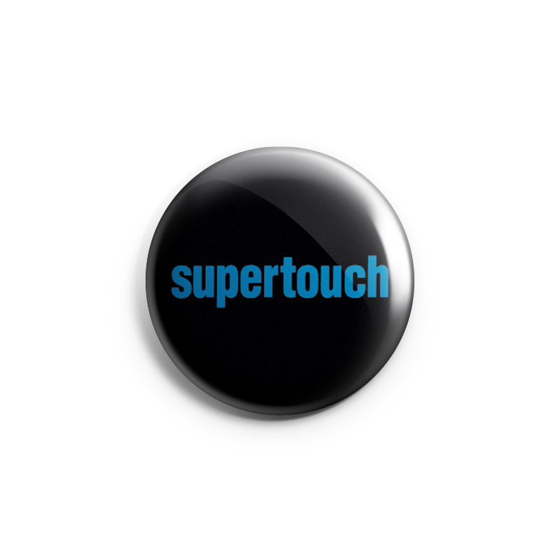 "REVBTN27 Supertouch ""Logo (Blue)"" - Button"