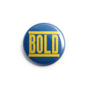 "REVBTN84 Bold ""Logo (Yellow On Blue)"" -  Button"