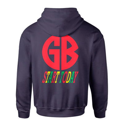 "Gorilla Biscuits ""Start Today (Champion Brand)"" -  Hooded Sweatshirt"