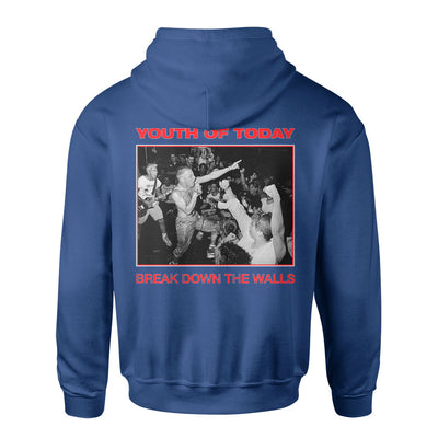 "Youth Of Today ""Break Down The Walls (Champion Brand)"" - Hooded Sweatshirt"