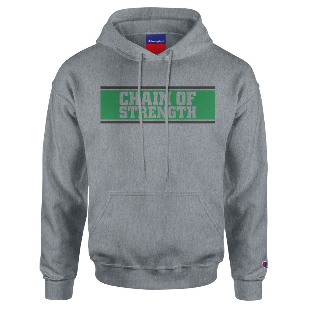 "Chain Of Strength ""The One Thing That Still Holds True (Champion Brand)"" - Hooded Sweatshirt"