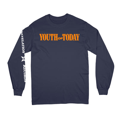 "REVCLS59 Youth Of Today ""We're Not In This Alone (Champion Brand)"" - Long Sleeve T-Shirt Front"