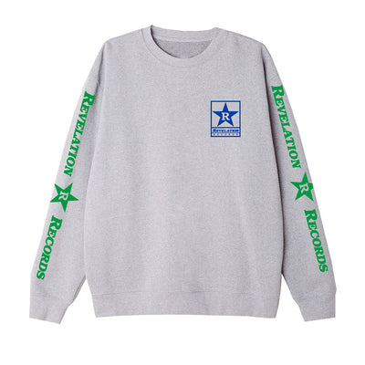 "Revelation Records ""Logo (Ash)"" - Crew Sweatshirt"