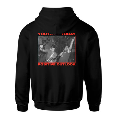 "REVHS32 Youth Of Today ""Positive Outlook (Black)"" - Hooded Sweatshirt Back"