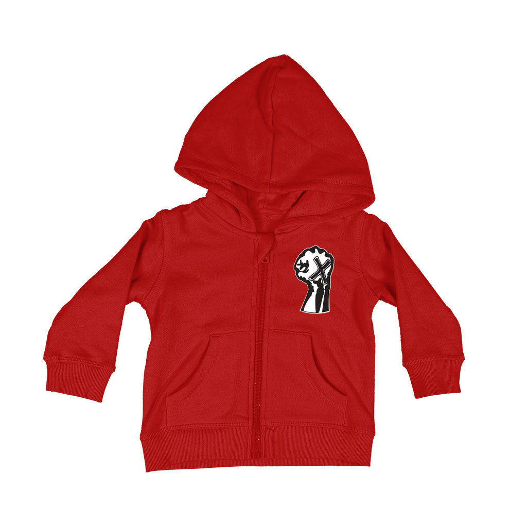 "Youth Of Today ""Fist"" - Baby Zipper Hoodie"