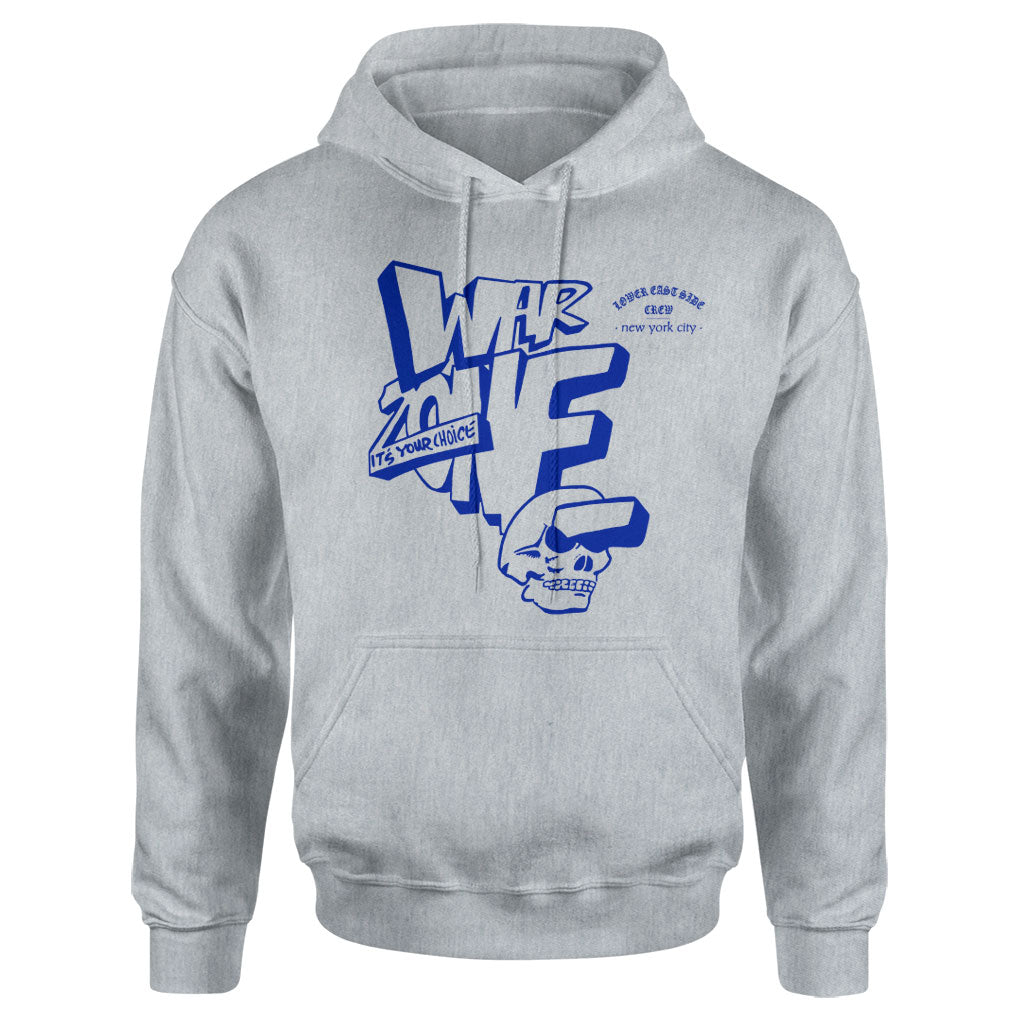 "Warzone ""It's Your Choice (Grey)"" - Hooded Sweatshirt"