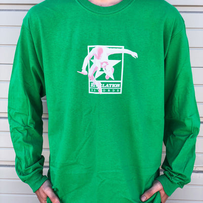 "Youth Of Today ""Rev Of Today (Kelly Green)"" - Long Sleeve T-Shirt"