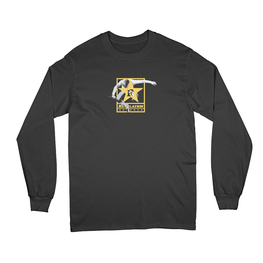 "Youth Of Today ""Rev Of Today (Black)"" - Long Sleeve T-Shirt"