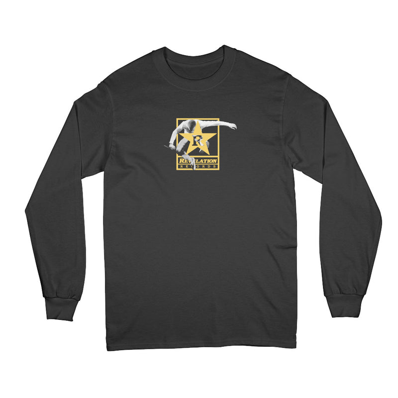 "REVLS017 Youth Of Today ""Rev Of Today (Black)"" - Long Sleeve T-Shirt"