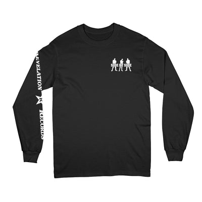 "REVLS05 Side By Side ""Live Photo"" - Long Sleeve T-Shirt Front"