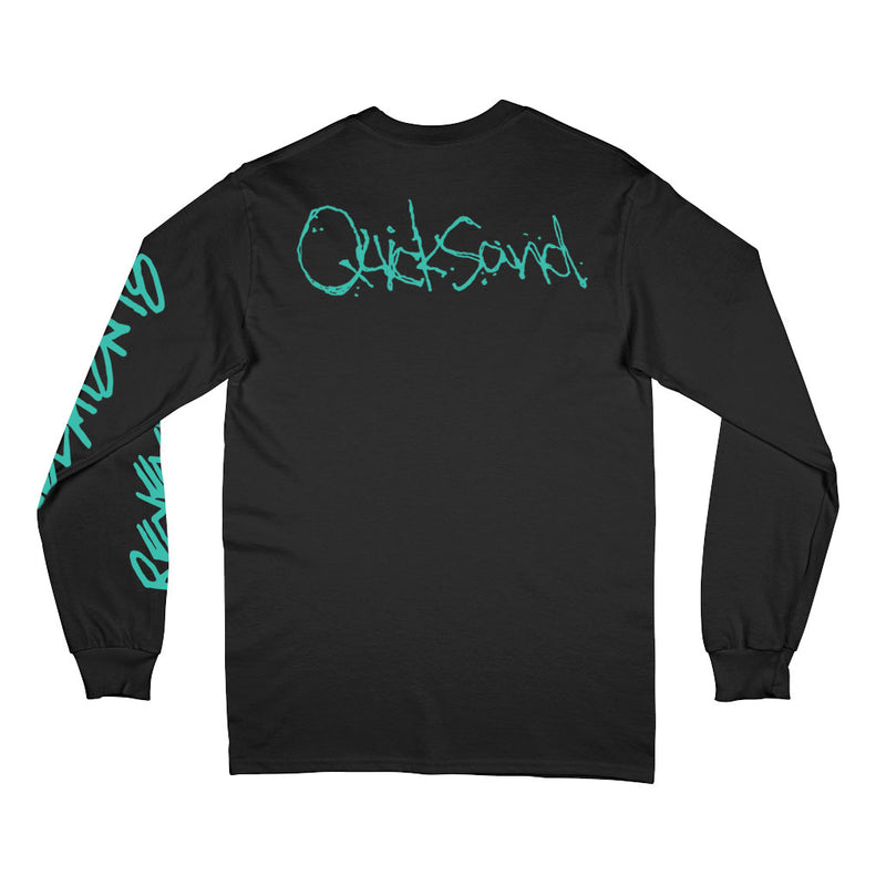 "Quicksand ""Revelation 18 (Black)"" - Long Sleeve T-Shirt"