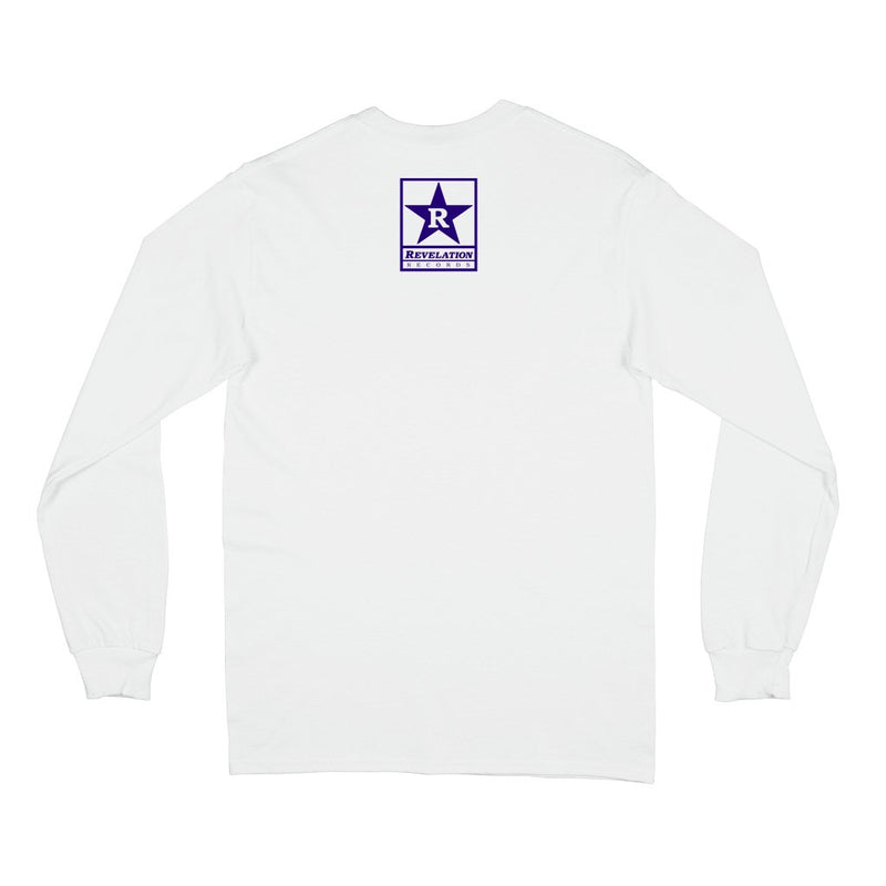 "REVLS182S Drain ""California Hardcore"" - Long Sleeve Front"