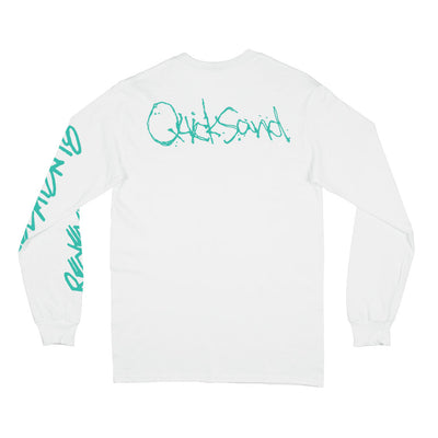 "Quicksand ""Revelation 18 (White)"" - Long Sleeve T-Shirt"