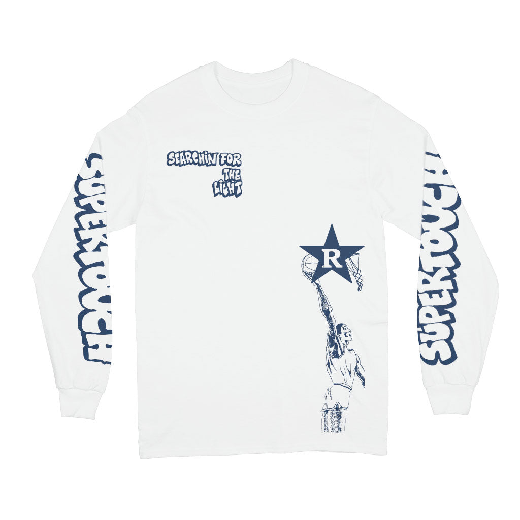 "Supertouch ""Searchin' For The Light (White)"" - Long Sleeve T-Shirt"