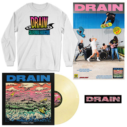"Drain ""California Cursed Vinyl Combo Package #2"""