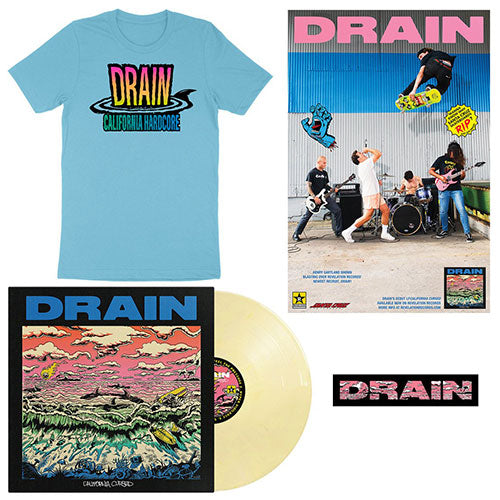 "Drain ""California Cursed Vinyl Combo Package #1"""