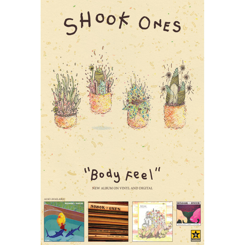 "Shook Ones ""Body Feel"" - Poster"