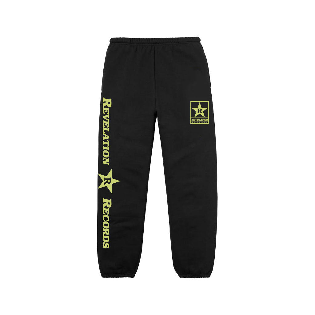 "Revelation Records ""Logo (Black)"" - Sweatpants"