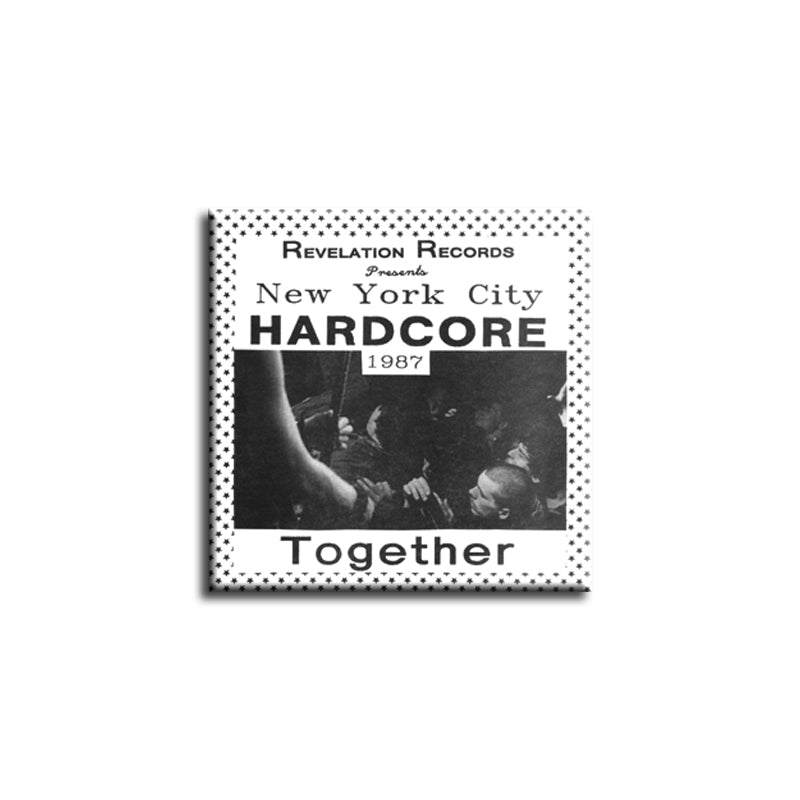 "REVSQB002 V/A ""Together"" - Button (1"" Square Button)"