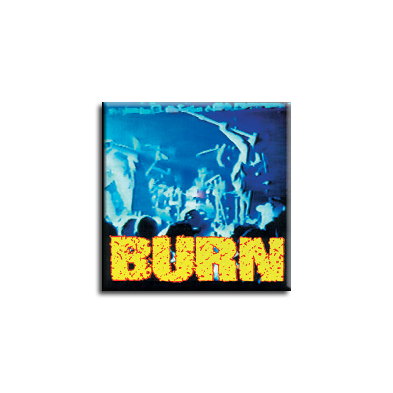 "REVSQB022 Burn ""s/t"" -  Button (1"" Square Button)"