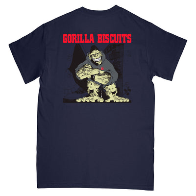 "REVSS03S Gorilla Biscuits ""Hold Your Ground"" -  T-Shirt Back"