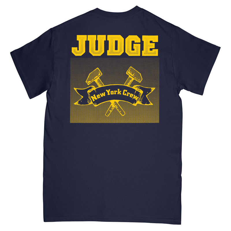 "REVSS04AS Judge ""New York Crew (Navy)"" -  T-Shirt Front"