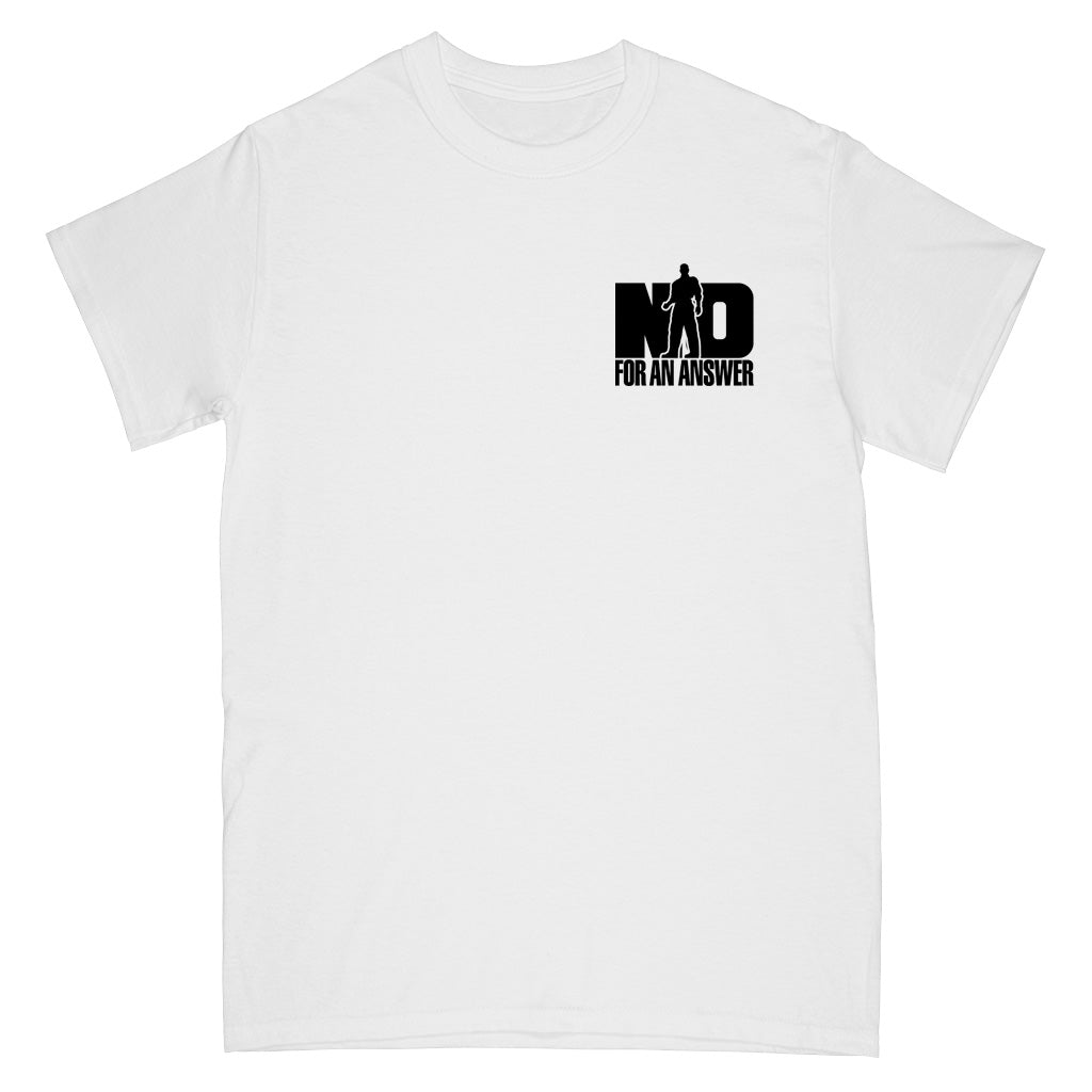 "REVSS06AS No For An Answer ""Orange County Hardcore (White)"" -  T-Shirt"