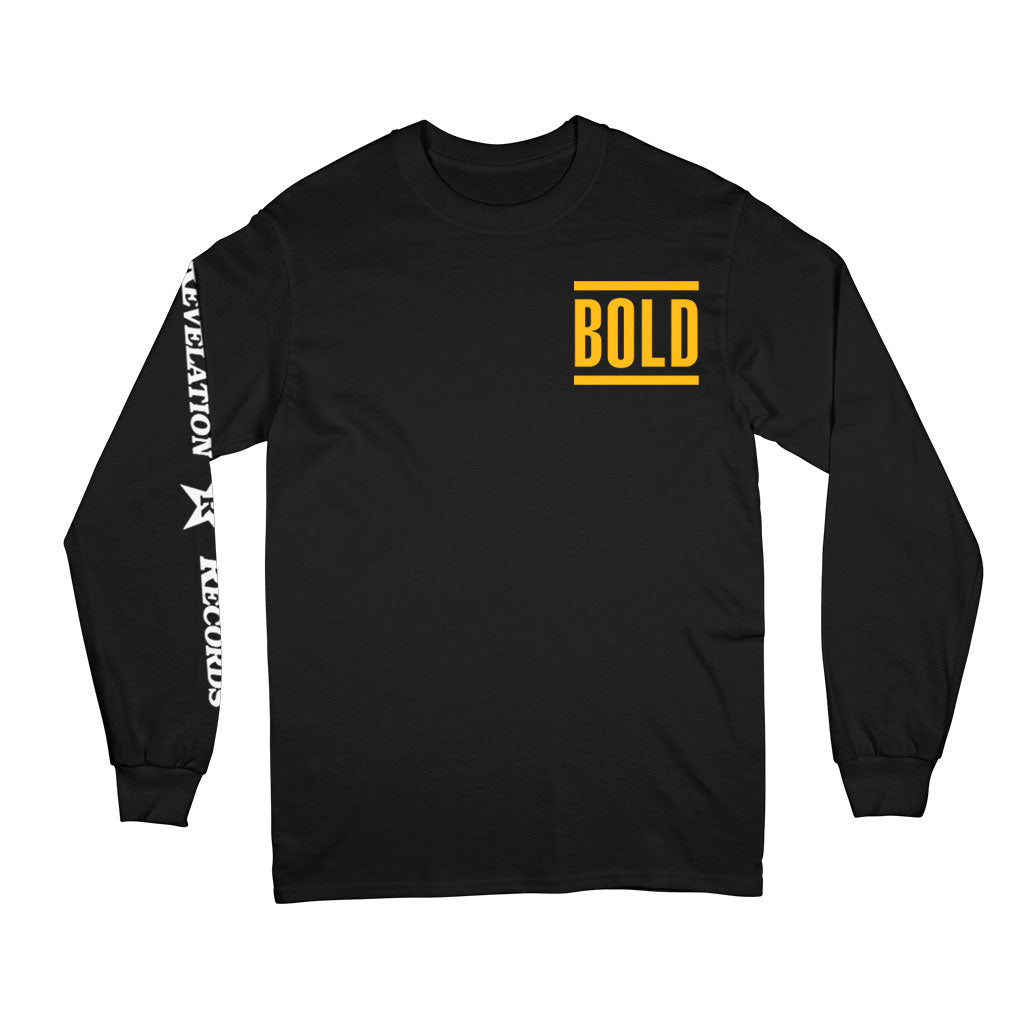 "Bold ""Logo"" - Long Sleeve T-Shirt"