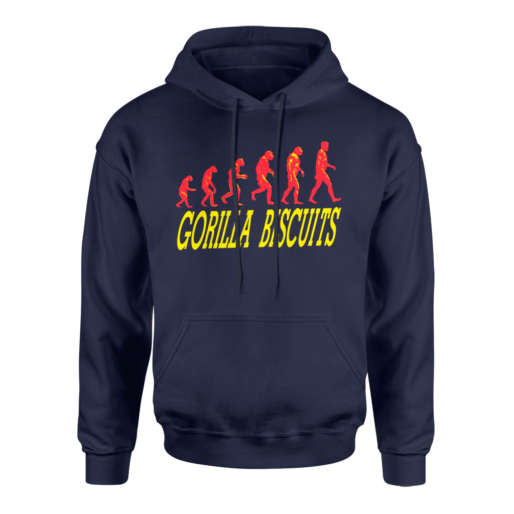 "REVHS12S Gorilla Biscuits ""Start Today"" -  Hooded Sweatshirt Front"