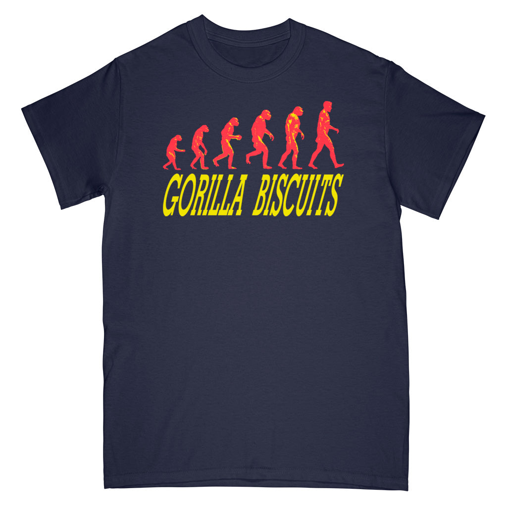 "REVSS12S Gorilla Biscuits ""Start Today"" -  T-Shirt Front"