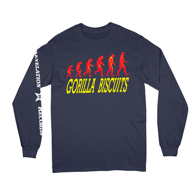"REVLS12S Gorilla Biscuits ""Start Today"" - Long Sleeve Front"