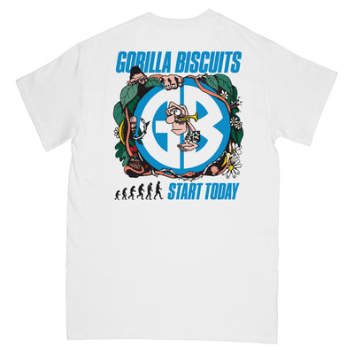 "REVSS125S Gorilla Biscuits ""Jungle"" -  T-Shirt Back"