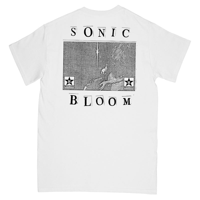 "REVSS157S GIVE ""Sonic Bloom"" -  T-Shirt Front"