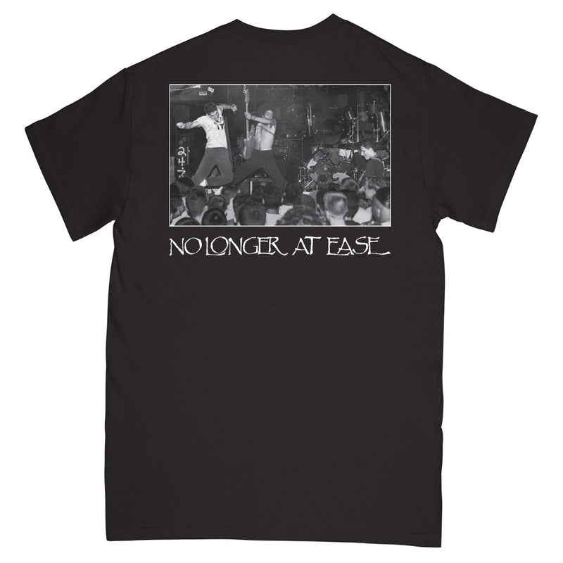 "REVSS164S Beyond ""No Longer At Ease (Black)"" -  T-Shirt Front"