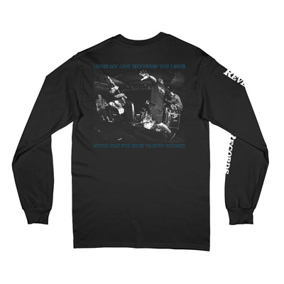 "REVLS167 Search ""Between The Lines"" - Long Sleeve T-Shirt Back"