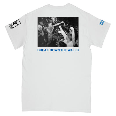 "REVSS17 Youth Of Today ""Break Down The Walls"" - T-Shirt Back"