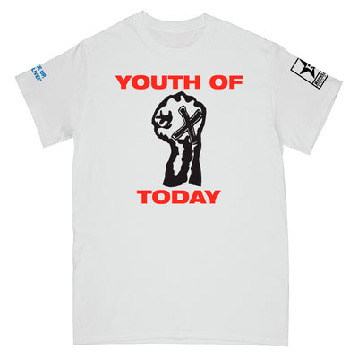 "REVSS17 Youth Of Today ""Break Down The Walls"" - T-Shirt Front"
