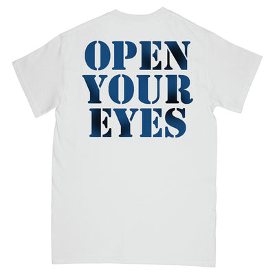 "REVSS173 Warzone ""Open Your Eyes (Poster Art)"" - T-Shirt Back"